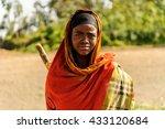 omo  ethiopia   september 22 ... | Shutterstock . vector #433120684