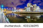 bilbao  spain   may 2016  the... | Shutterstock . vector #433136095