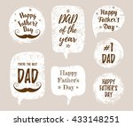 happy father's day  you're the... | Shutterstock .eps vector #433148251