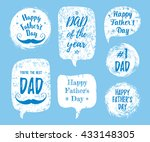 happy father's day  you're the... | Shutterstock .eps vector #433148305