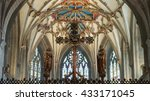 england  tewkesbury   29 may... | Shutterstock . vector #433171045