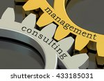 management consulting concept... | Shutterstock . vector #433185031