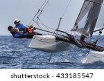 punta ala   3 june   teams... | Shutterstock . vector #433185547