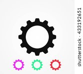 gear icon | Shutterstock .eps vector #433192651