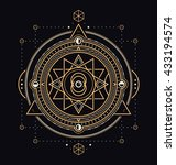 sacred symbols design  ... | Shutterstock .eps vector #433194574