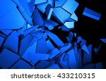 abstract 3d rendering of... | Shutterstock . vector #433210315