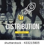 distribution logistic cargo... | Shutterstock . vector #433215805