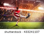 football player at the stadium | Shutterstock . vector #433241107