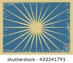 old style scratched vector...   Shutterstock .eps vector #433241791