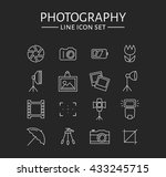 Photo Icons. Set Of 16 Symbols...
