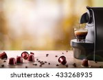 Espresso Machine Making Coffee...