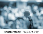 music equipment microphone and... | Shutterstock . vector #433275649