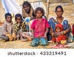 allahabad  india   february 10  ... | Shutterstock . vector #433319491