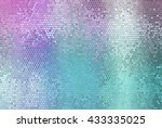 bright abstract mosaic... | Shutterstock . vector #433335025