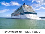 celebrity eclipse  southampton... | Shutterstock . vector #433341079