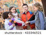 friendship forever   outdoor...   Shutterstock . vector #433346521