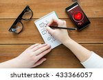health care  planning and... | Shutterstock . vector #433366057