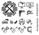 break down  fix icon set