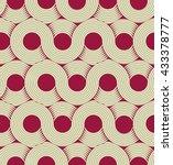 an infinite moebius stripe... | Shutterstock .eps vector #433378777