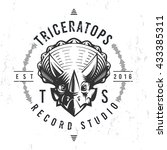 Dinosaur Record Studio Logo...