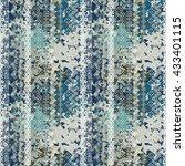 ethnic boho seamless pattern.... | Shutterstock . vector #433401115