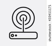 Router Icon  Router Icon Eps10...