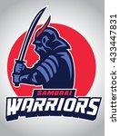 samurai warrior | Shutterstock .eps vector #433447831
