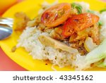 healthy chinese style... | Shutterstock . vector #43345162