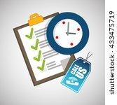 call center design. customer... | Shutterstock .eps vector #433475719