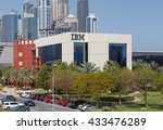 dubai  uae   may 15  2016  ibm... | Shutterstock . vector #433476289