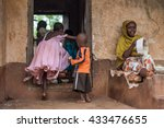 editorial use. people in africa ... | Shutterstock . vector #433476655