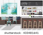a vector illustration of... | Shutterstock .eps vector #433481641