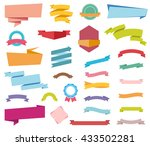 vector file representing labels ... | Shutterstock .eps vector #433502281