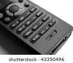 keys on a cordless mobile... | Shutterstock . vector #43350496