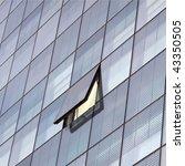 modern highrise skyscraper... | Shutterstock . vector #43350505