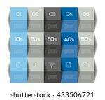table template  schedule 3d. | Shutterstock .eps vector #433506721