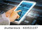 using innovative technologies | Shutterstock . vector #433521157