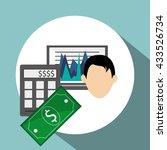 infographic design. business... | Shutterstock .eps vector #433526734