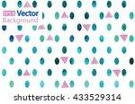 stylish seamless pattern in... | Shutterstock .eps vector #433529314