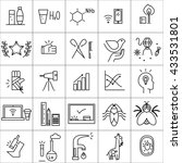 social icon set isolated on... | Shutterstock . vector #433531801