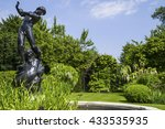 hylas and the nymph statue... | Shutterstock . vector #433535935