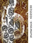 paisley vintage background | Shutterstock .eps vector #43355230