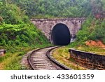 tunnel in demodara  ella ... | Shutterstock . vector #433601359