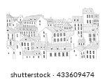 city background | Shutterstock .eps vector #433609474