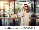 woman | Shutterstock . vector #433641451
