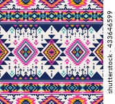 Retro Color Tribal Navajo...