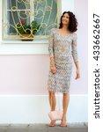 full length portrait of a... | Shutterstock . vector #433662667