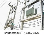 Electric Transformer On ...