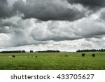 Dark Low Clouds Over Cattle...