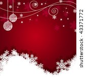 christmas background | Shutterstock . vector #43371772